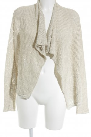 Marc O'Polo Strickjacke sandbraun Casual-Look