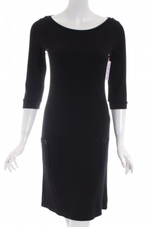 Marc O'Polo Strickkleid schwarz Casual-Look