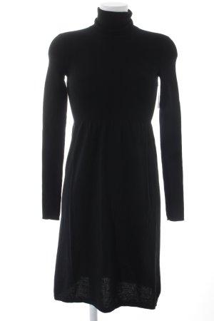 Marc O'Polo Strickkleid schwarz klassischer Stil