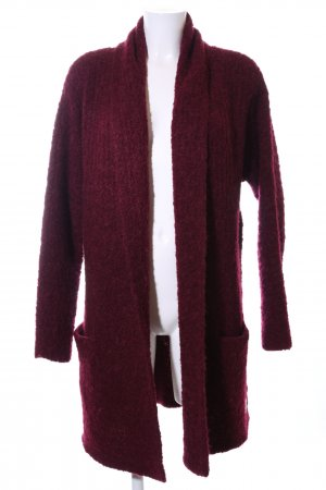 Marc O'Polo Strickmantel rot Casual-Look
