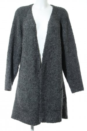 Marc O'Polo Knitted Coat light grey flecked casual look