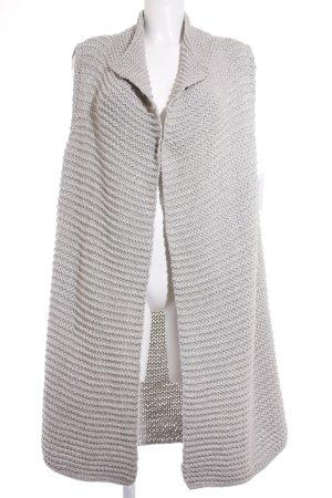 Marc O'Polo Manteau en tricot gris clair style urbain