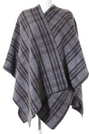 Marc O'Polo Poncho in maglia motivo a righe stile casual