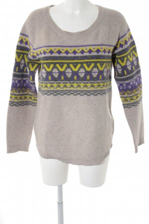 Marc O'Polo Strickpullover Aztekenmuster Casual-Look