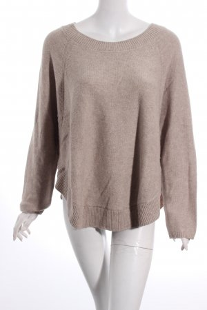 Marc O'Polo Strickpullover beige Casual-Look