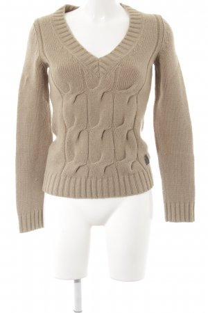 Marc O'Polo Strickpullover beige-nude Webmuster Business-Look