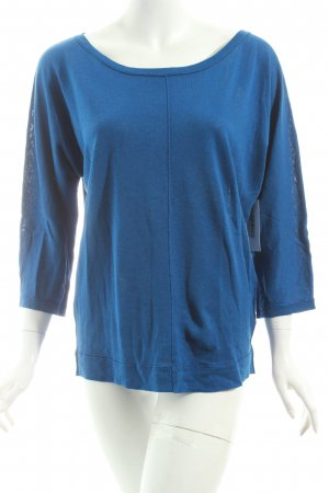 Marc O'Polo Strickpullover blau Casual-Look