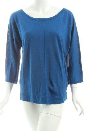 Marc O'Polo Strickpullover blau Casual-Look