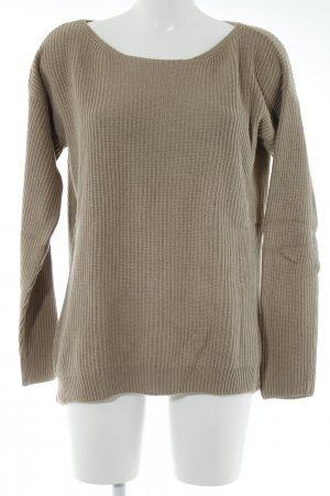 Marc O'Polo Strickpullover camel Casual-Look