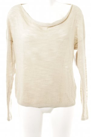 Marc O'Polo Strickpullover creme Casual-Look