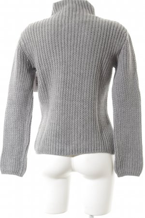 Marc O'Polo Strickpullover dunkelgrau Casual-Look