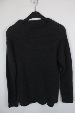 Marc O`Polo Strickpullover Gr. XS dunkelgrau oversized (18/9/032)