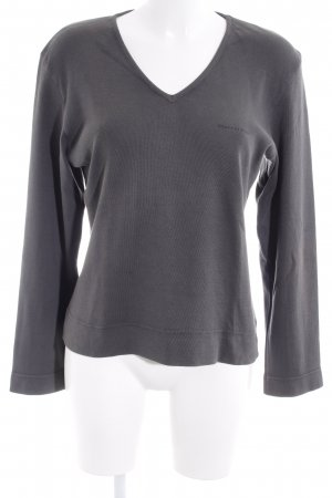 Marc O'Polo Strickpullover grau Casual-Look
