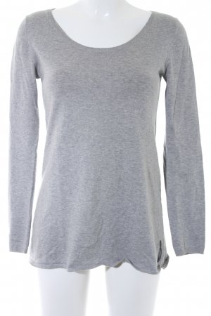Marc O'Polo Strickpullover hellgrau Casual-Look