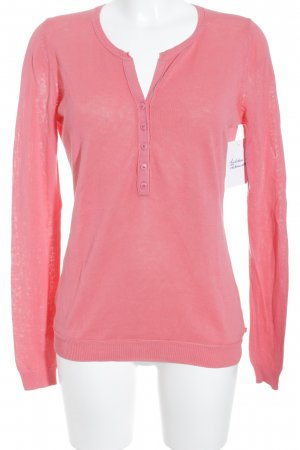 Marc O'Polo Strickpullover magenta Casual-Look