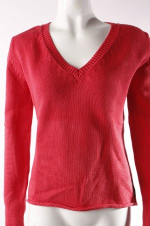 Marc O'Polo Strickpullover rot