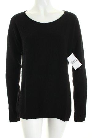 Marc O'Polo Strickpullover schwarz klassischer Stil