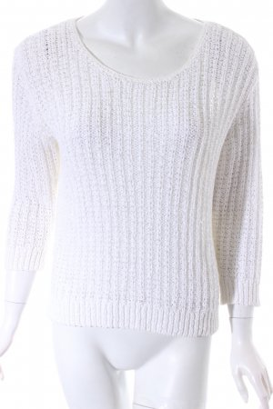 Marc O'Polo Strickpullover weiß Casual-Look
