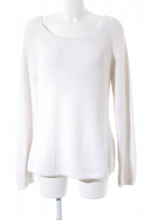 Marc O'Polo Strickpullover wollweiß Casual-Look