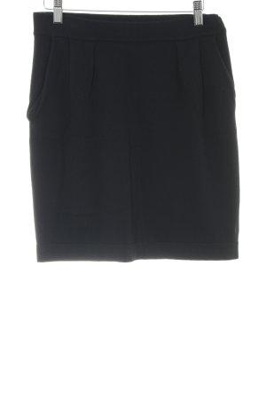 Marc O'Polo Jupe tricotée noir style décontracté