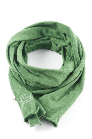 Marc O'Polo Sciarpa lavorata a maglia verde stile casual
