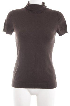 Marc O'Polo Strickshirt braun Casual-Look