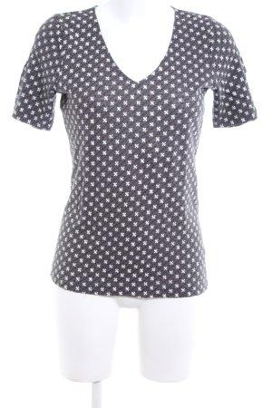 Marc O'Polo Strickshirt abstraktes Muster Casual-Look