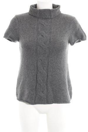 Marc O'Polo Camicia maglia grigio punto treccia stile casual