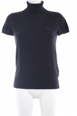 Marc O'Polo Camisa tejida negro look casual