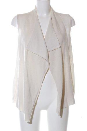 Marc O'Polo Gilet tricoté blanc cassé style d'affaires