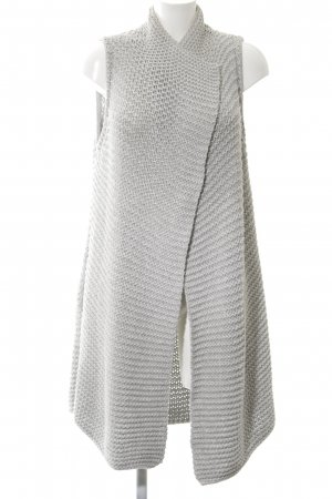 Marc O'Polo Knitted Vest light grey cable stitch casual look