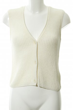 Marc O'Polo Gebreid vest wolwit casual uitstraling