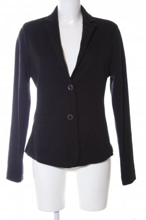 Marc O'Polo Sweatblazer schwarz Streifenmuster Casual-Look