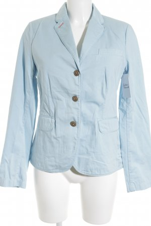 Marc O'Polo Sweatblazer babyblau Casual-Look