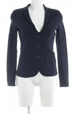 Marc O'Polo Sweatblazer dunkelblau Casual-Look