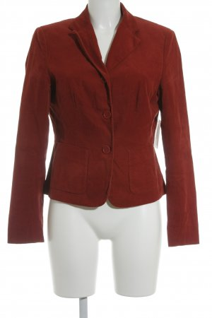 Marc O'Polo Sweatblazer dunkelrot Brit-Look
