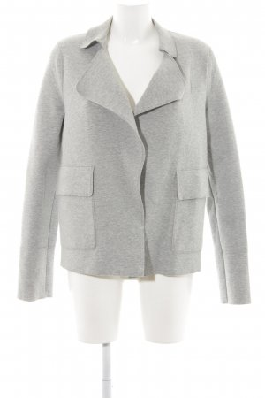 Marc O'Polo Sweatblazer hellgrau-grau meliert Casual-Look
