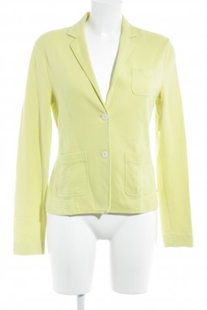 Marc O'Polo Sweatblazer limettengelb Casual-Look