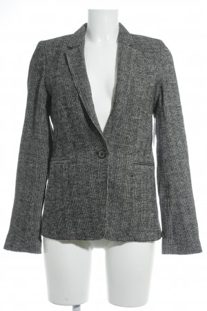 Marc O'Polo Sweatblazer schwarz-hellgrau Brit-Look
