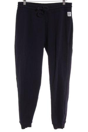 Marc O'Polo Pantalon de jogging bleu foncé style décontracté