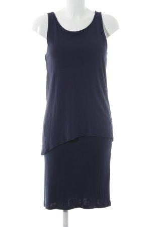 Marc O'Polo Vestido de tela de sudadera azul oscuro look casual