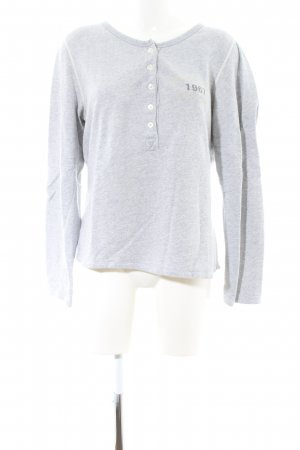 Marc O'Polo Sweatshirt hellgrau meliert Casual-Look