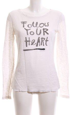 Marc O'Polo Sweatshirt weiß Motivdruck Casual-Look
