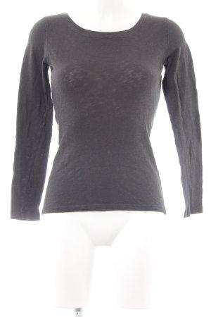 Marc O'Polo Sweatshirt anthrazit minimalistischer Stil