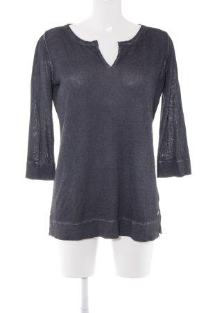 Marc O'Polo Sweatshirt graublau Casual-Look