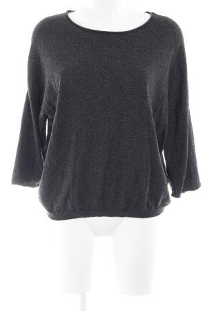 Marc O'Polo Sweatshirt schwarz-grau meliert Casual-Look