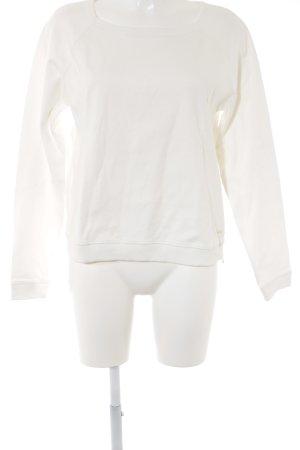Marc O'Polo Sweatshirt wollweiß Casual-Look