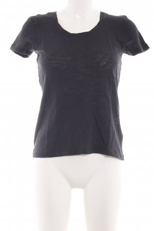 Marc O'Polo T-Shirt schwarz Casual-Look