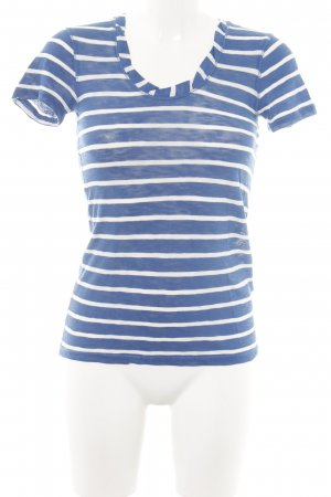 new concept ff6bd cbef1 Marc O'Polo T-Shirt blue-white striped pattern casual look