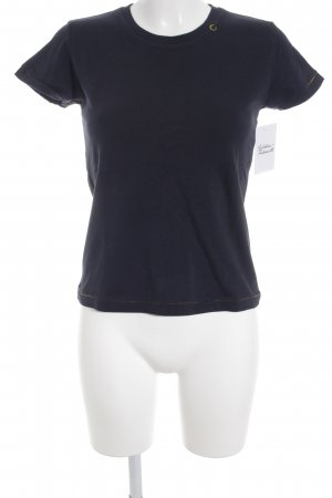 Marc O'Polo T-Shirt dunkelblau Casual-Look